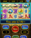 Spēlēt Treasure Pirtaes Mobile Slot Game.