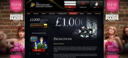 Well Managed Website for The Hippodrome Online Casino