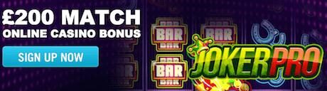 online casino deposit match welcome bonus