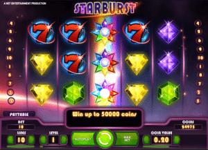 Starburst Slots Instant Wins