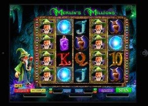 CoinFalls Casino Merlin's Millions