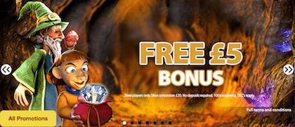 free online casino bonus no deposit