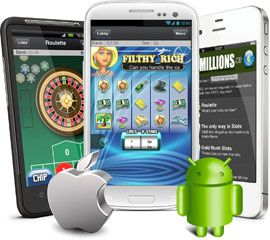 Android and iPhone Phone Slots Casino