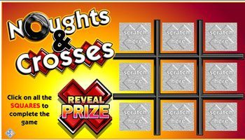 Scratch Cards Sign up Bonus