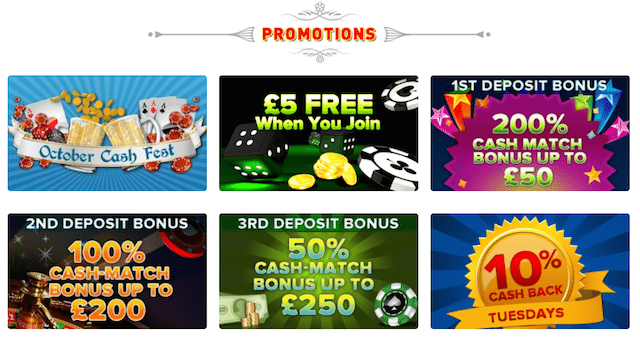 CoinFalls Mobile Casino Promotions