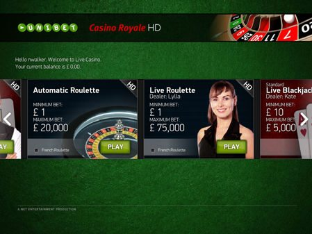 Live Casino Deposit Bonus