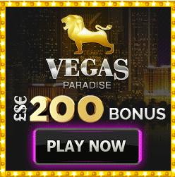 Vegas Paradise Bonus