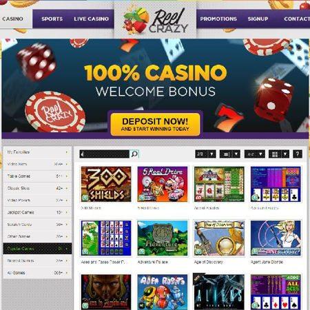 ReelCrazy Live Casino Free Cash for Free