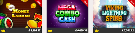 Instant win jackpot slots games