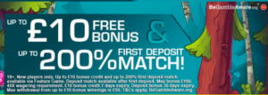 pocketwin signup bonus + deposit match