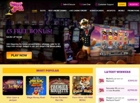 Mobile Casino No Deposit Bonus at Slot Jar Casino