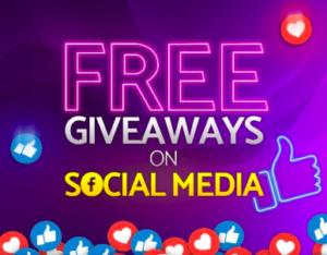 free social media giveaways