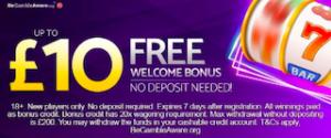 mobile casino games signup bonus no deposit