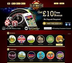 Slotmatic Mobile Offers